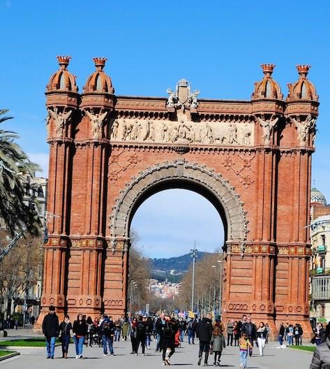 arca triumfa Barcelona