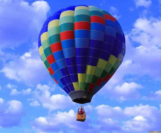 Полет на воздушном шаре в барселоне